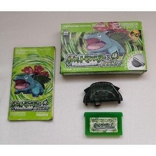 GBA ポケットモンスター リーフグリーン 箱 説明書 ゲームボーイアドバンス(携帯用ゲームソフト)