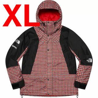 シュプリーム(Supreme)のシュプリーム ノースフェイス スタッズ  マウンテンライトジャケット XL 赤(マウンテンパーカー)