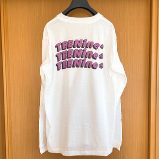 TEENine back print T shirt(Tシャツ(長袖/七分))