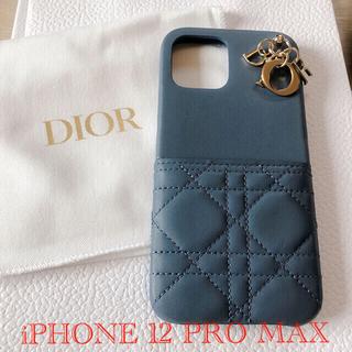 ディオール(Dior)のLADY DIOR  IPHONE 12 PRO MAX ケース(iPhoneケース)
