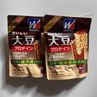 ウイダー(weider)のウイダー おいしい大豆プロテインビターチョコ味140g(プロテイン)