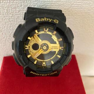 Baby-G - CASIO G-SHOCK 腕時計 baby-g 黒金