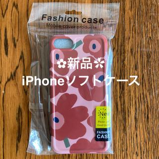 新品 未使用 マリメッコ風 花柄 iPhoneケース iPhone6 7 SE(iPhoneケース)