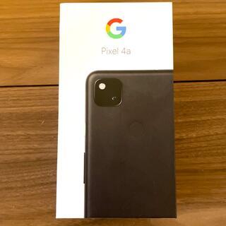 グーグル(Google)のGoogle Pixel 4a  JustBlack 128 GB(スマートフォン本体)