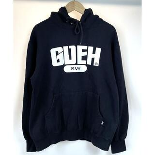 GOODENOUGH - グッドイナフ 2002 GDEH サークルロゴ スウェット パーカー 黒 L