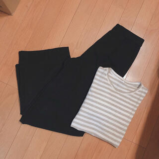 AZUL by moussy - AZUL by moussy Warmタックワイドパンツ