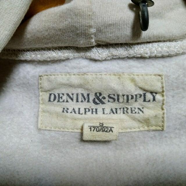 Denim & Supply Ralph Lauren(デニムアンドサプライラルフローレン)のDENIM&SUPPLY  ラルフローレン ダメージ加工パーカー メンズのトップス(パーカー)の商品写真