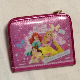 ディズニー(Disney)のディズニープリンセス折り畳み財布☆(財布)