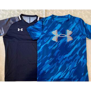 UNDER ARMOUR - アンダーアーマー シャツ 2枚セット YLG