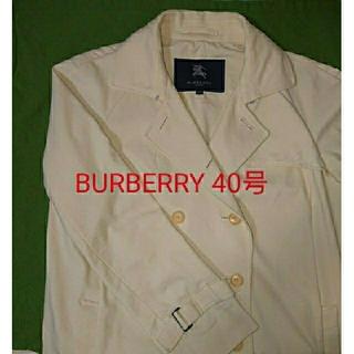 バーバリー(BURBERRY)の【BURBERRY】スプリングショートコート(40号)(スプリングコート)