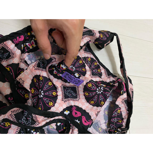 ANNA SUI(アナスイ)の【もこ様専用】アナスイ ポーチ付きエコバッグ レディースのバッグ(エコバッグ)の商品写真