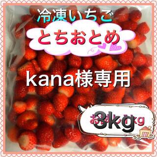 冷凍とちおとめ 3kg kana様専用(フルーツ)