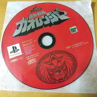 プレイステーション(PlayStation)の百獣戦隊ガオレンジャー コンビニ決済OK(家庭用ゲームソフト)