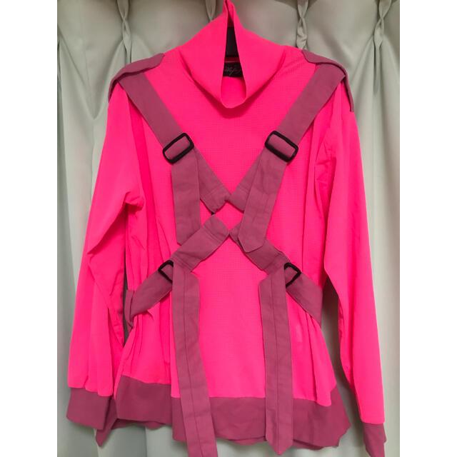 MILKBOY(ミルクボーイ)のミルクボーイ milkboy ピンクパラシュート 未使用 メンズのトップス(Tシャツ/カットソー(七分/長袖))の商品写真