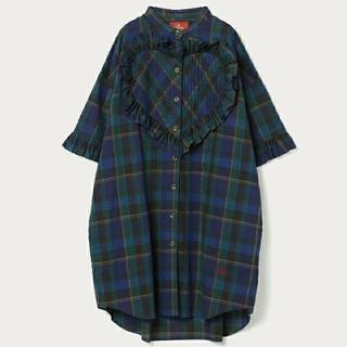 Vivienne Westwood - Vivienne Westwood 新品 オーブ ハート フリル BIG シャツ