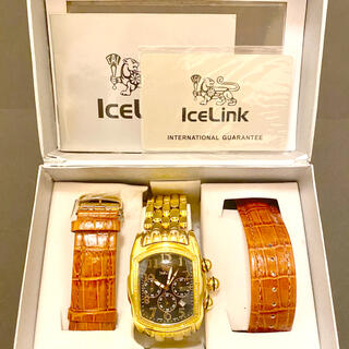 4月12日朝まで!! ICELINK 腕時計 超レア 美品
