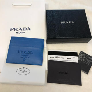 プラダ(PRADA)のプラダ PRADA カードケース名刺入れ 新品未使用(名刺入れ/定期入れ)