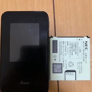 NEC - モバイルWiFiルーターMR03LN  ジャック