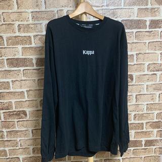 カッパ(Kappa)のkappa  ロングTシャツ 長袖 黒 M 品番47(Tシャツ/カットソー(七分/長袖))
