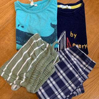 サクラクレパス(サクラクレパス)のセット売り Tシャツ 2枚 半ズボン 2枚(Tシャツ/カットソー)
