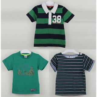 アウトドアプロダクツ(OUTDOOR PRODUCTS)の男の子 半袖Tシャツ 110cm 3枚セット(Tシャツ/カットソー)