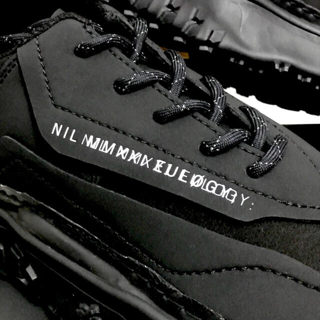 JULIUS(ユリウス)の4月末まで JULIUS ニルズ  オーバーソールスニーカーBK×WH サイズ2 メンズの靴/シューズ(スニーカー)の商品写真
