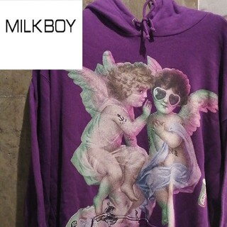 MILKBOY - 【双子天使】ミルクボーイパーカー TRAVASTOKYO STUSSY  FR2