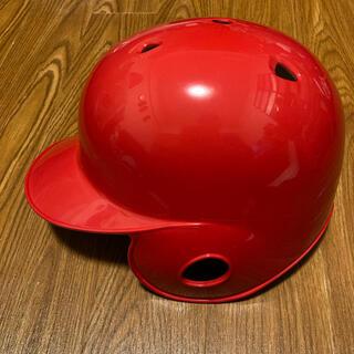 アシックス(asics)のアシックス ヘルメット 軟式用 M(防具)