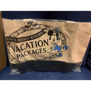 ディズニー(Disney)のミッキー  バケーションパッケージ トートバッグ(トートバッグ)
