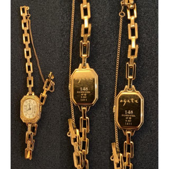 agete(アガット)のagete(アガット) 2014年クリスマス限定ウォッチ レディースのファッション小物(腕時計)の商品写真