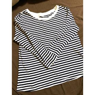 ZARA - ZARAボーダーTシャツ Lサイズ
