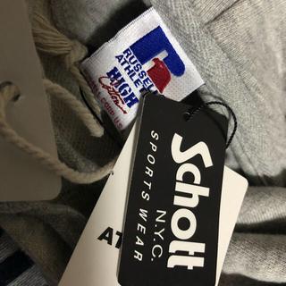ショット(schott)の新品!ラッセルアスレチック SCHOTT コラボ パーカー(パーカー)