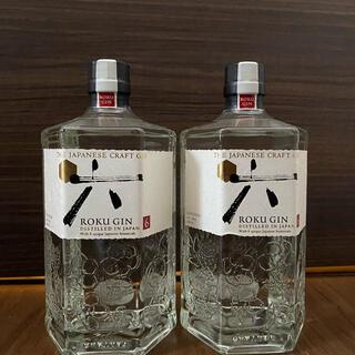 サントリー(サントリー)のサントリーロク六ROKUGIN700ml×2本セット(蒸留酒/スピリッツ)