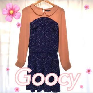 グースィー(goocy)のGoocy  ワンピース  春ワンピ ✿(ひざ丈ワンピース)