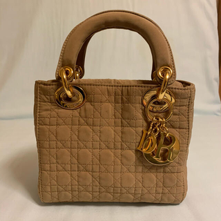 クリスチャンディオール(Christian Dior)のレディーディオール ミニ  lady dior  レディディオール(ハンドバッグ)