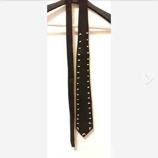 ヨウジヤマモト(Yohji Yamamoto)のヨウジヤマモト Y's for men ワイズフォーメン リボン装飾 ネクタイ(ネクタイ)