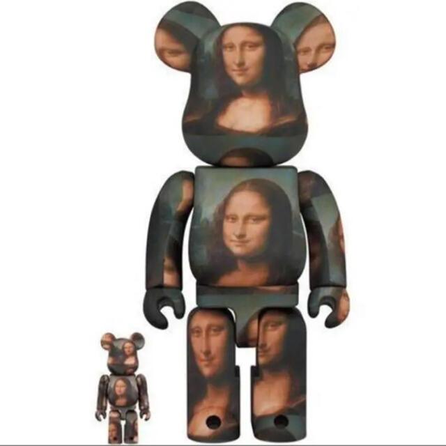 MEDICOM TOY(メディコムトイ)のBE@RBRICK MONA LISA 100&400% エンタメ/ホビーのおもちゃ/ぬいぐるみ(キャラクターグッズ)の商品写真