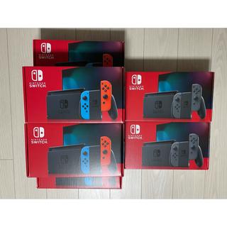 ニンテンドースイッチ(Nintendo Switch)のSwitch 任天堂スイッチ 本体 ネオン グレー 7台セット(家庭用ゲーム機本体)