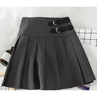 スタイルナンダ(STYLENANDA)のミニスカート プリーツ グレー(ミニスカート)