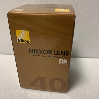 Nikon - 新品 未使用 Nikon AF-S DX MICRO40F2.8G