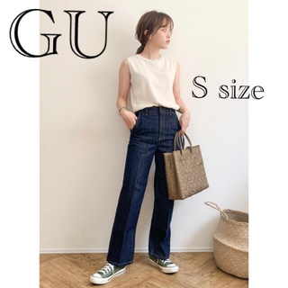 GU - GU ハイウエストジーンズ S size