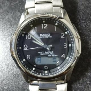 カシオ(CASIO)の正常動作 5気圧防水 ソーラー電波 WVA-M630(腕時計(アナログ))