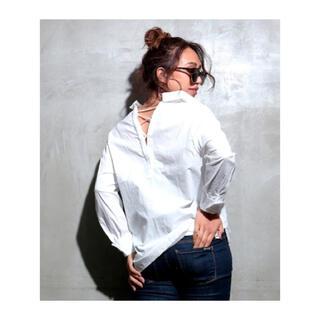 アナップラティーナ(ANAP Latina)の新品 レースアップシャツ(シャツ/ブラウス(長袖/七分))