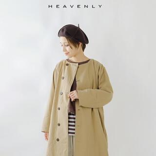 ネストローブ(nest Robe)のお値下げ★heavenly 今季完売 コットンツイルノーカラーコート(スプリングコート)