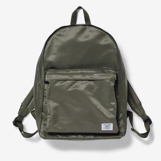 ダブルタップス(W)taps)のwtaps book pack OLIVE DRAB bag リュック カバン(バッグパック/リュック)