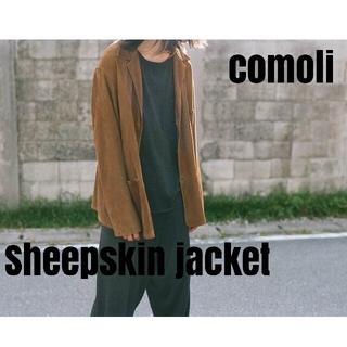 コモリ(COMOLI)のcomoli sheepskin jacket シープスキン(レザージャケット)