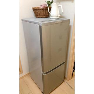 三菱 -  MITSUBISHI 三菱 ノンフロン 冷蔵 冷凍庫  MR-P15Y-S