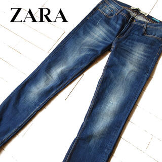 ZARA - 美品 (EUR)38 ザラ ZARA プレミアムウォッシュ スキニーデニム