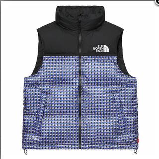 シュプリーム(Supreme)のM supreme north face Studded Nuptse Vest(ダウンベスト)