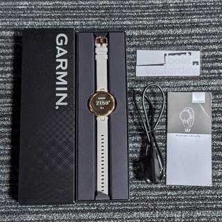 ガーミン(GARMIN)の(美品)スマートウォッチGARMIN Lily(ガーミン リリー)(腕時計)